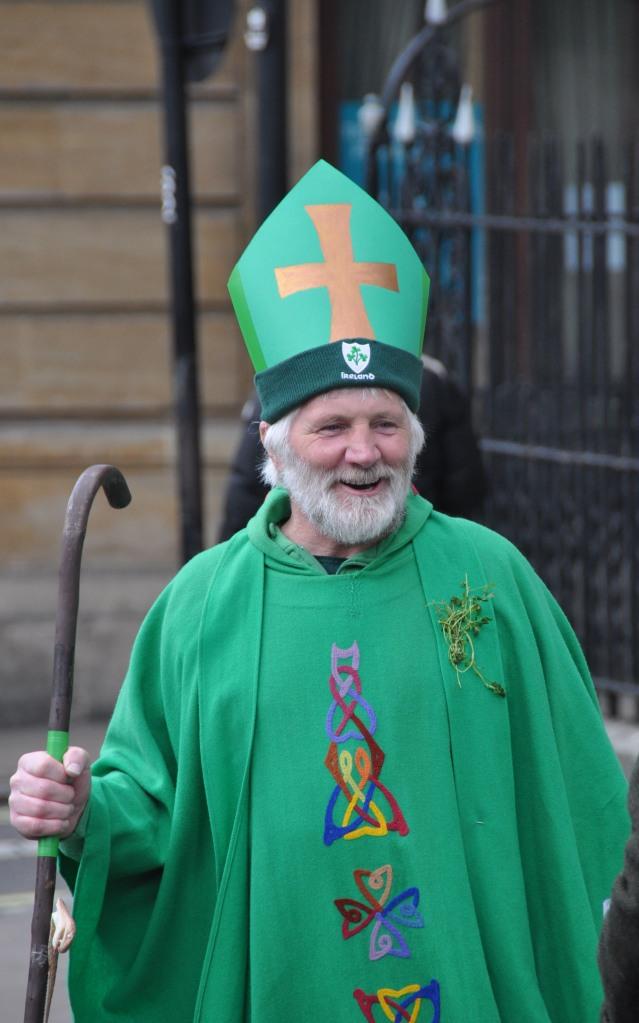 St Patrick Day Parade - The man himself