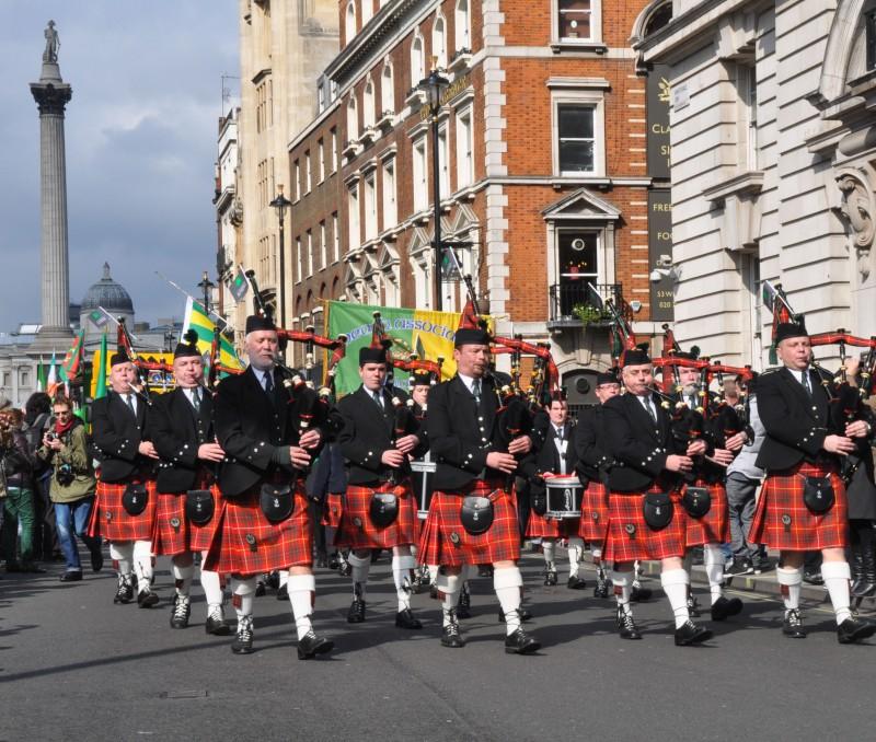 St Patrick Day Parade - Marching Band