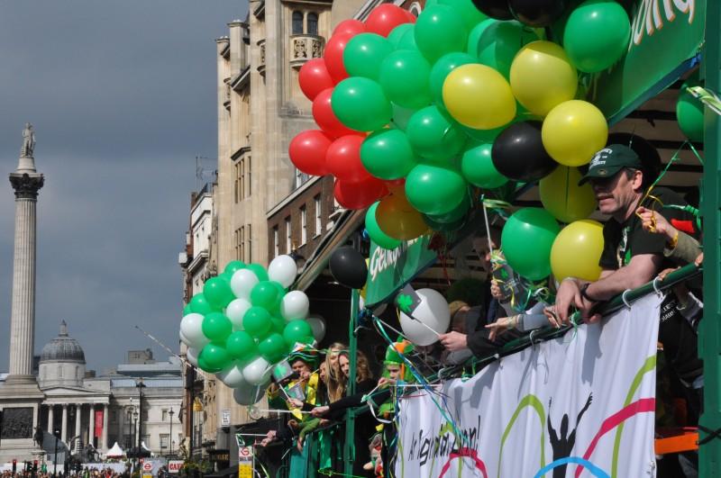 St Patrick Day Parade - Float
