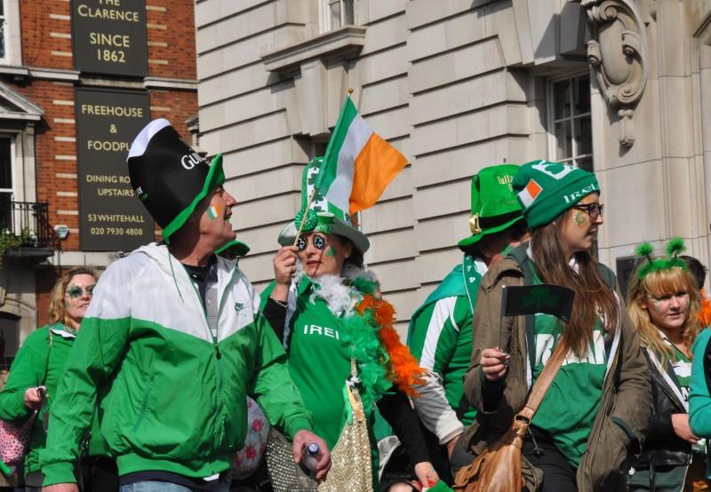 St Patrick Day Parade - Participants