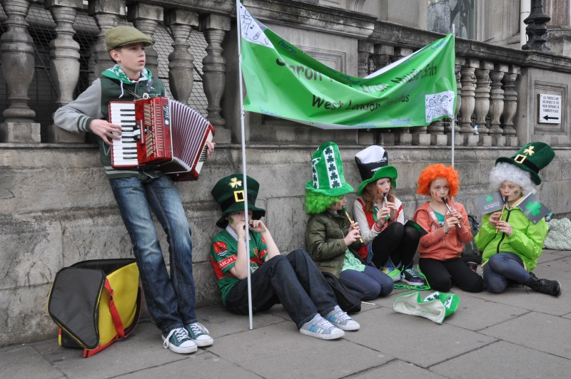 St Patrick Day Parade - Young Bands