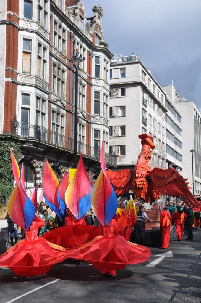 St Patrick Day Parade - Parade starts
