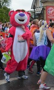 Fancy Dress runner London Marathon